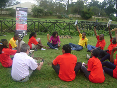 TeamBuilding in Mt kenya
